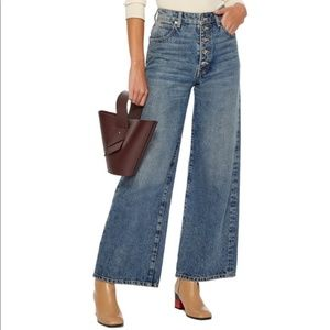 Eve Denim The Charlotte high rise culotte jean
